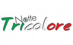 notte tricolore a Bordighera 16 Marzo 2011