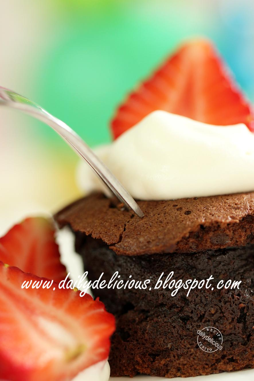 Flourless Chocolate Cake Made With Stevia