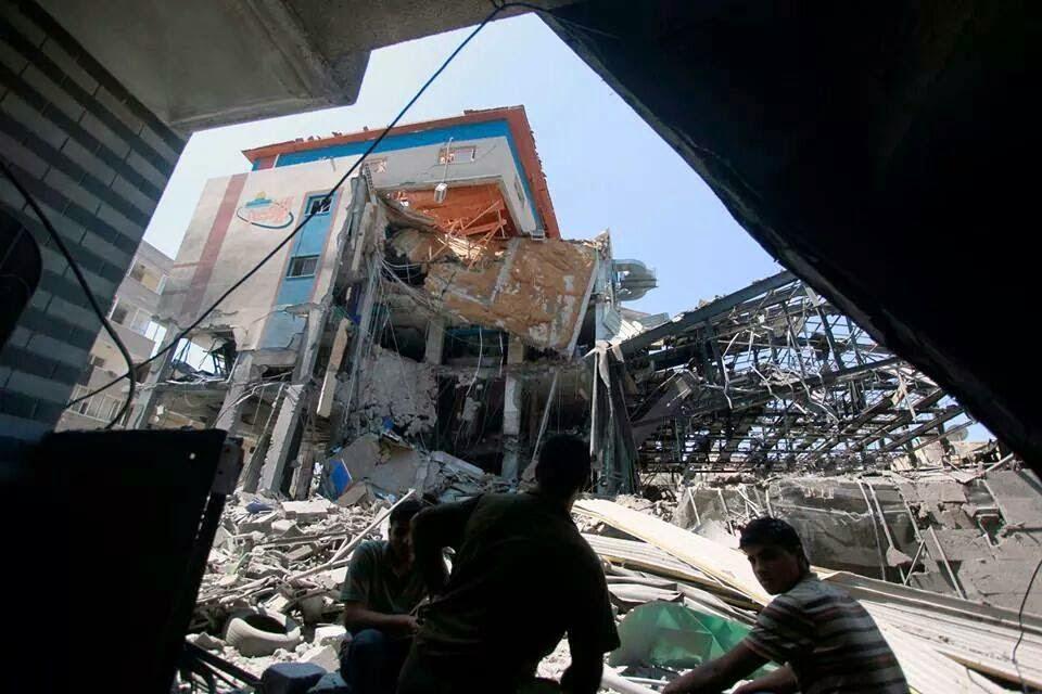 Bangunan saluran TV Al Aqsa
