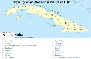 Cuba por provincias