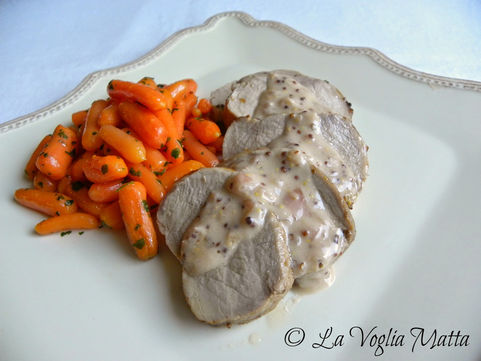 ricetta filetto di maiale al marsala e senape