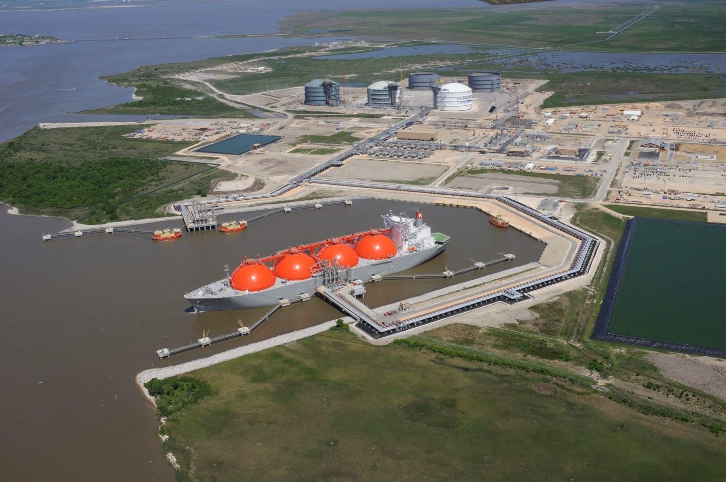 Liquefied Natural Gas Louisiana