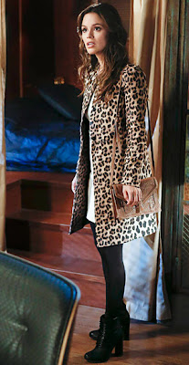"Zoe's ZARA Leopard Print Coat Hart of Dixie Season 2, Episode 12: ""Islands In the Stream"""