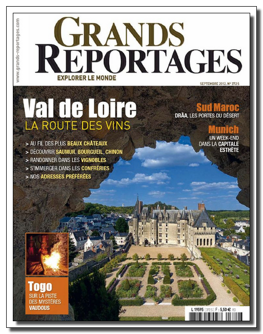 Grands Reportages N°372 - Septembre 2012 [Lien Direct]