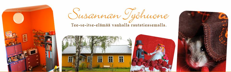 Susannan Työhuone - päiväkirja vanhalta rautatieasemalta