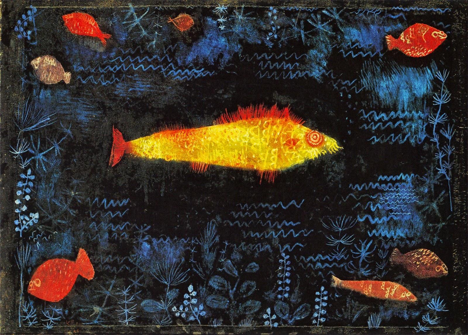 Bien-aimé kART à voir: n°088 Le Poisson d'Or (1925)Paul Klee ZA54