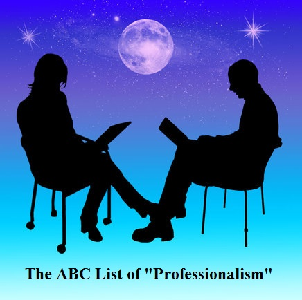 "HOW WOULD YOU DESCRIBE YOURSELF AS A ""PROFESSIONAL""?"