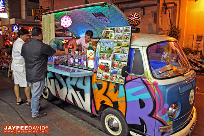 Bangkok, Thailand, BKK, mobile bar, bar on wheels