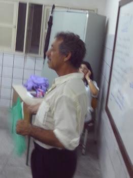 O PROFESSOR AUCIDES SALES, MEMBRO DA FUNDAÇÃO JOSÉ AUGUSTO...