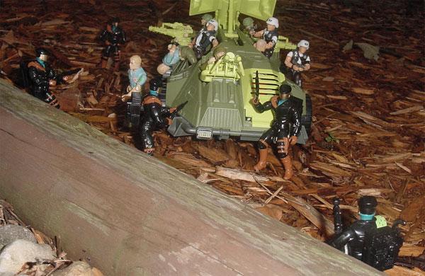 1992 Headhunter, DEF, 1993 Monster Blaster APC, Mega Marines, 1987 Chuckles, 2000 law