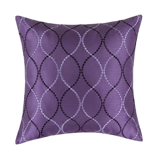 Euphoria purple pillow