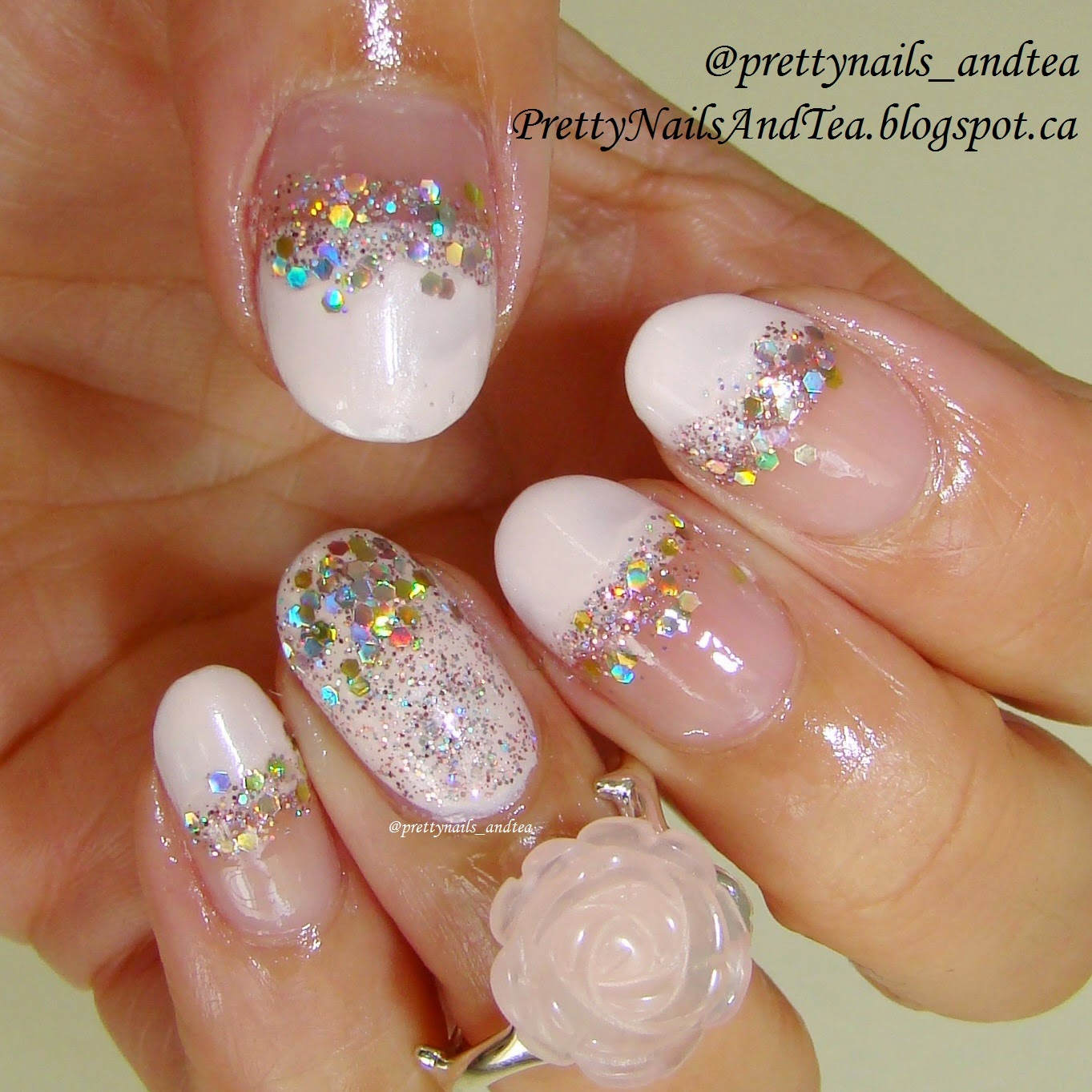 Pretty Nails and Tea: The Perfect Wedding Nails | Nail Art