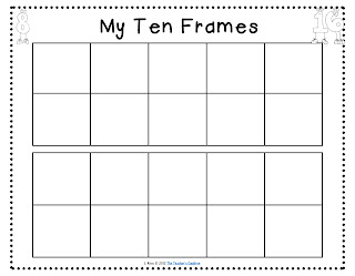 Clean image inside printable 10 frame
