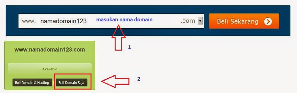 Cara Membeli Domain Idwebhost, Panduan dan Tutorial Terbaru