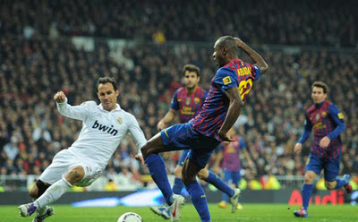 Hasil Skor Real Madrid vs Barcelona 19 Januari 2012 Copa Del Rey