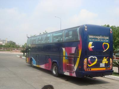 Coach Vietnam Cambodia - Buses Ho Chi Minh City, Phnom Penh, Siem Reap