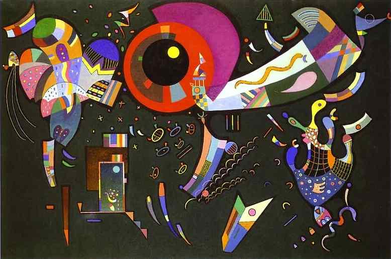 Wassily Kandinsky Circle Painting