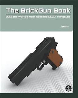 BrickGun Book Realistic Full-Scale Lego Model Guns