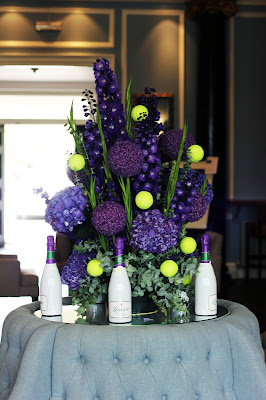 wimbledon tennis flowers