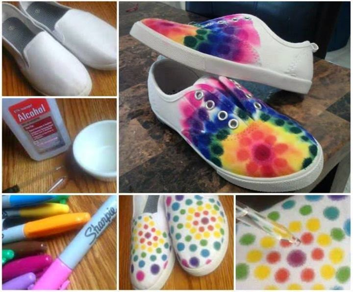 Steps To Make Your Sneakers Color Full And Beautiful...