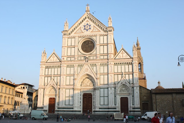 Basilica of Santa Croce Florence in Florence, Italy