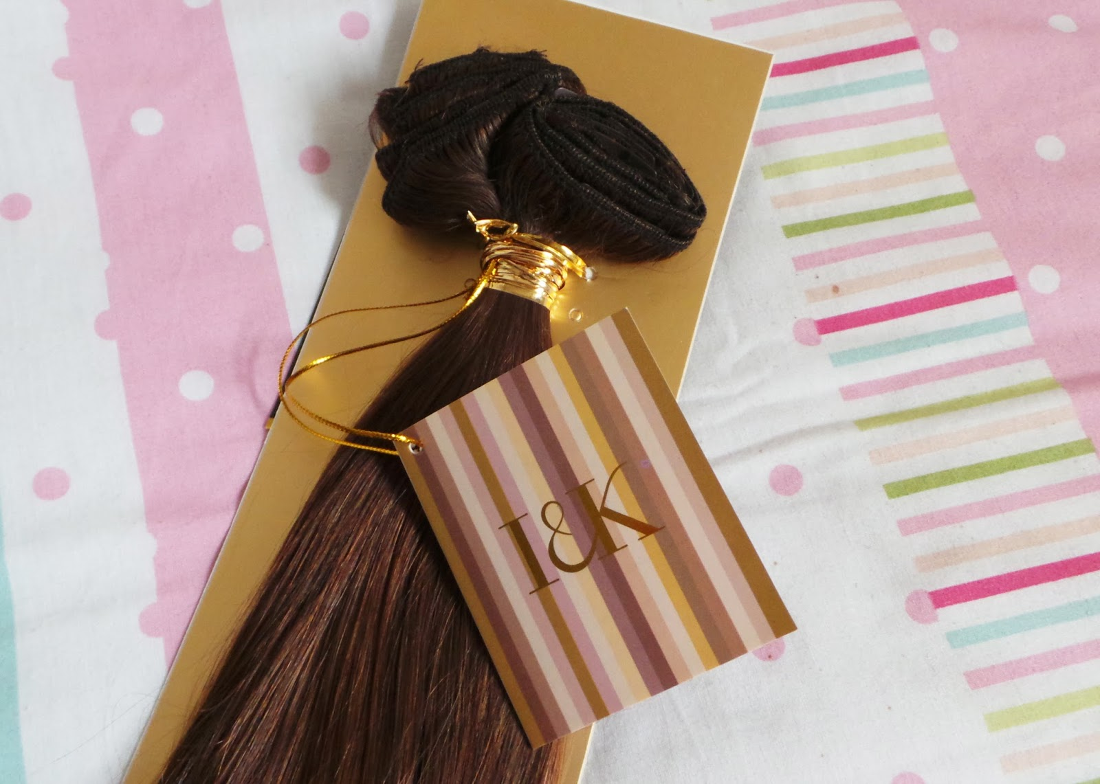 hair extensions, clip in hair extensions, real hair extensions, I&K Hair extensions review, Hairtrade hair extensions, hair blogger, beauty blogger, bblogger, beauty blog, hair review, haircare review, hair products,