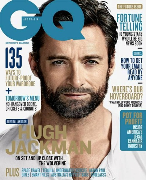 Hugh Jackman GQ Australia Cover
