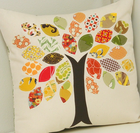 Scrap Buster Fall Pillow Cluck Cluck Sew