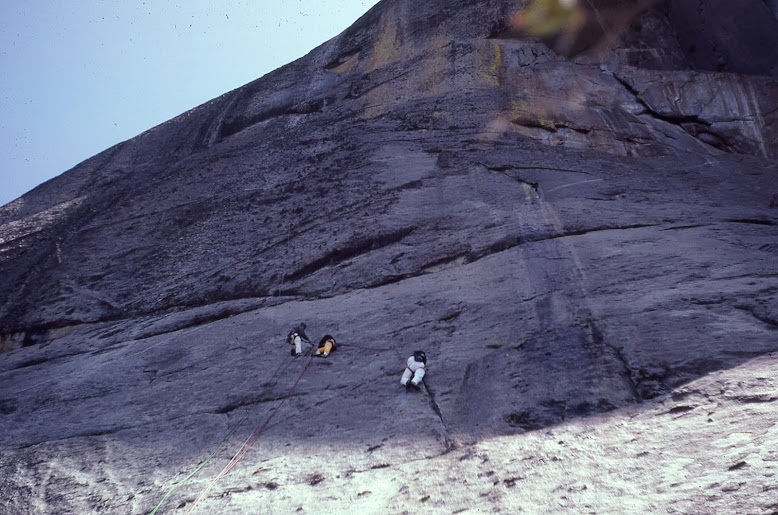 First Ascent of Pressure Sensitive....West Side Moro