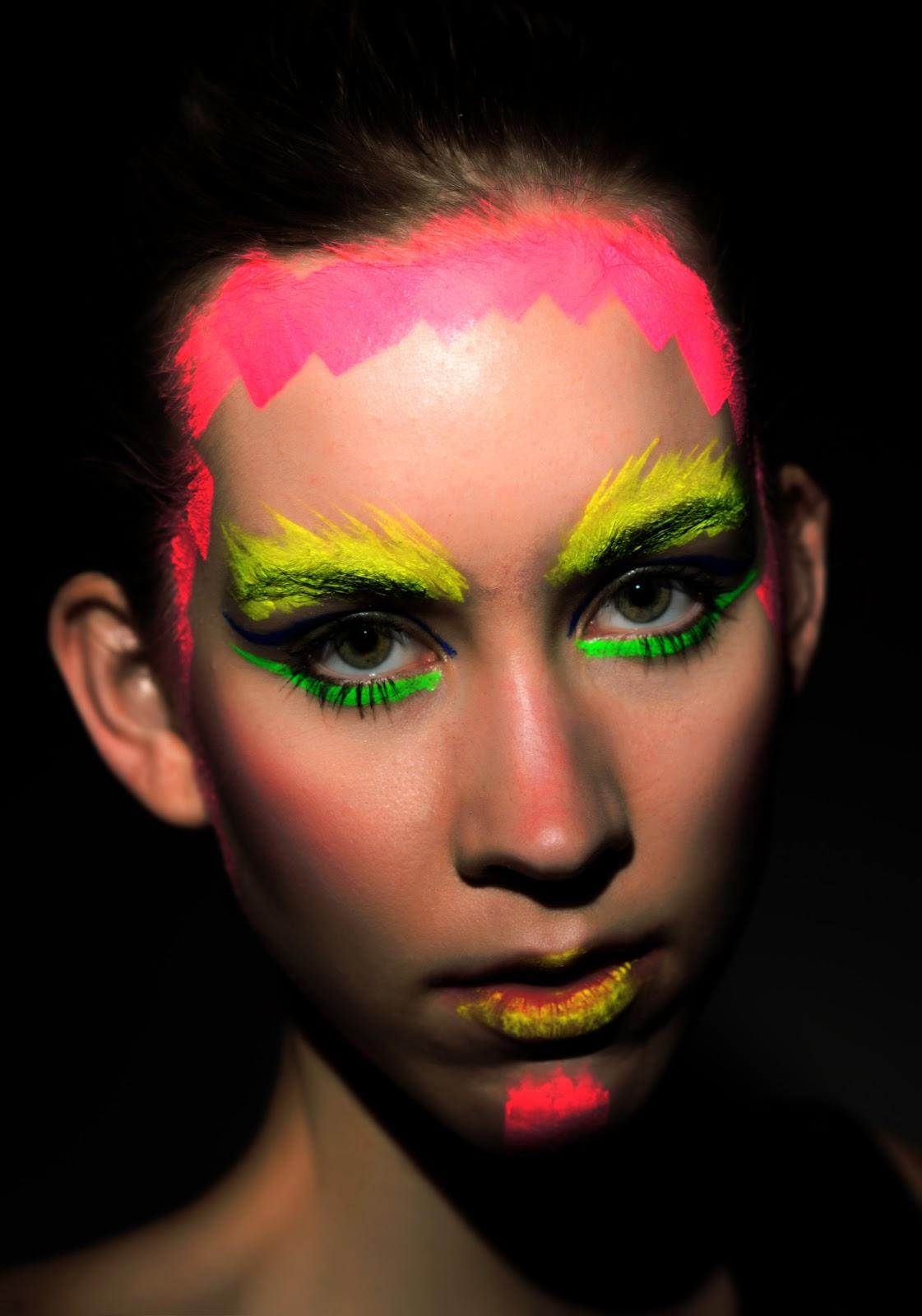 Neon Makeup Header