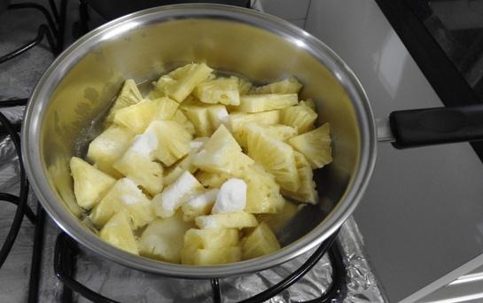 Sobremesa de Abacaxi super simples