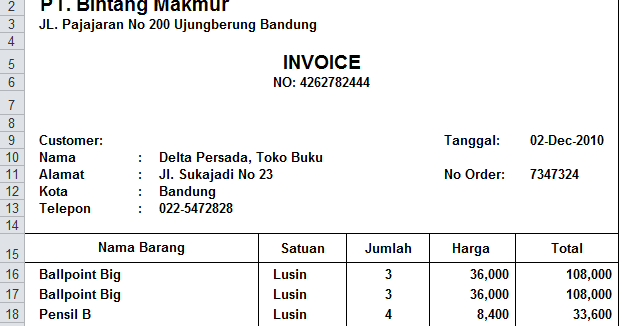 Invoice To Go Plus Download Contoh Invoice Excel  Rabitahnet Lps New Invoice Pdf with Invoice And Accounting Software For Small Business Word Contoh Invoice Excel Download  Tips Excel Invoice Templates Fiscal Invoice Pdf