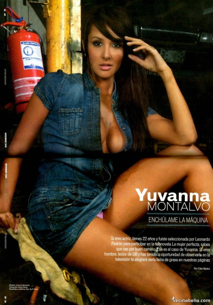 Yuvana Montalvo Modelo Y Actriz Venezolana