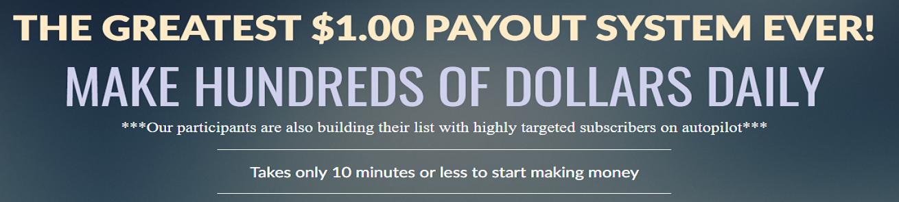 Make Hundreds of Dollars Daily