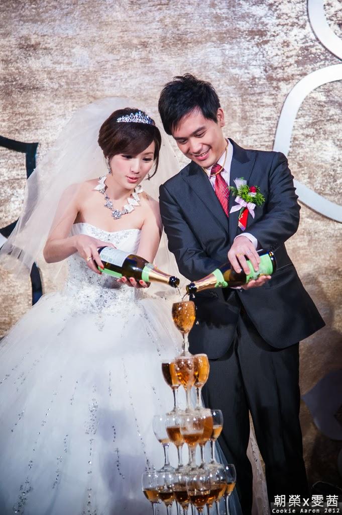 [ 婚禮紀實 ] 朝榮&雯茜定結同日@新店京采飯店