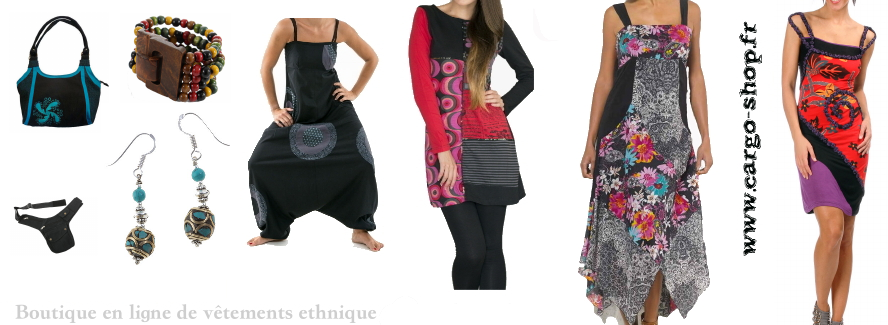 Acheter malin vetement style ethniqueet baba cool pas cher - Style baba cool chic ...