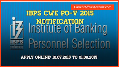 IBPS PO 2015 Notification