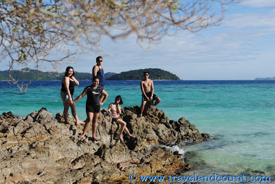 Malcapuya Island stones