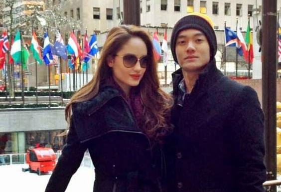 Foto Mesra Cinta Laura dan Boy William