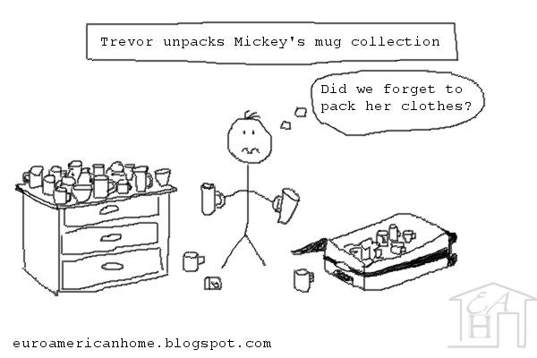 how to transport a collection of mugs EuroAmericanhome.blogspot.com