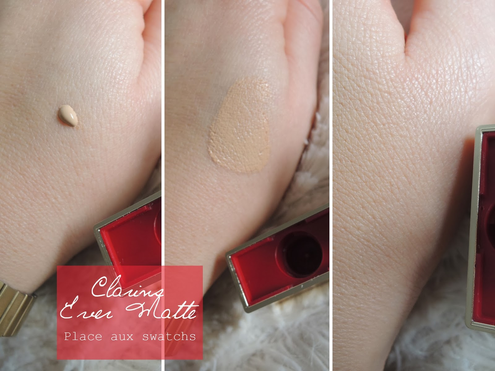 avis swatch clarins foundation