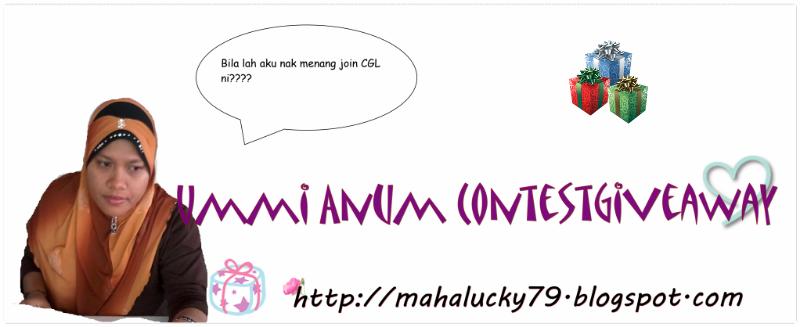 Ummi Anum ContestGiveaway