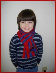 Hat and Scarf for Boy Crochet Pattern | Red Heart