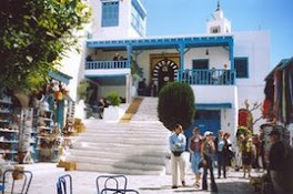 promenade dans sidi bou said