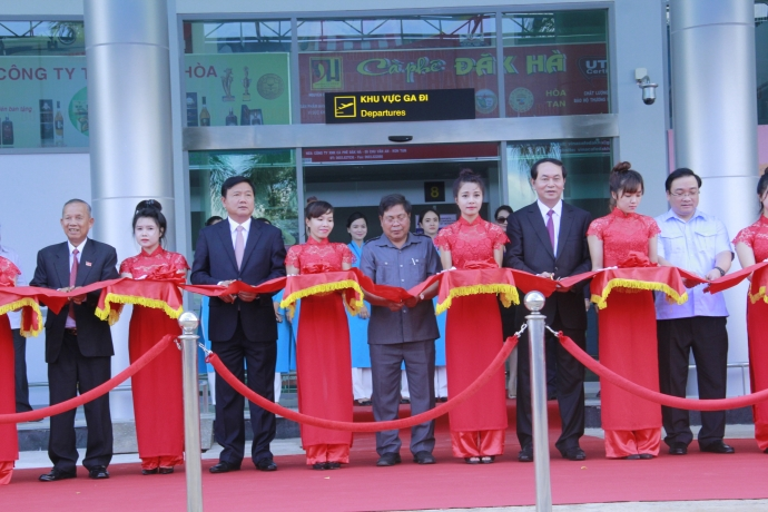 Gia Lai: Khánh thành dự án nâng cấp, sân bay Pleiku sẵn sàng đón Boing