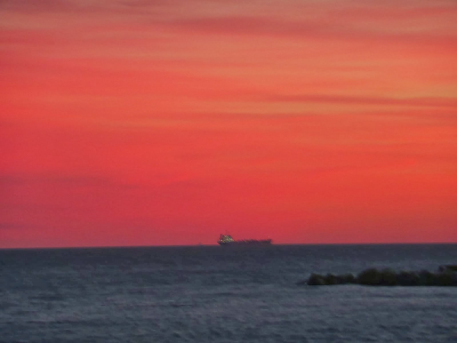 Un barco hacia Poniente