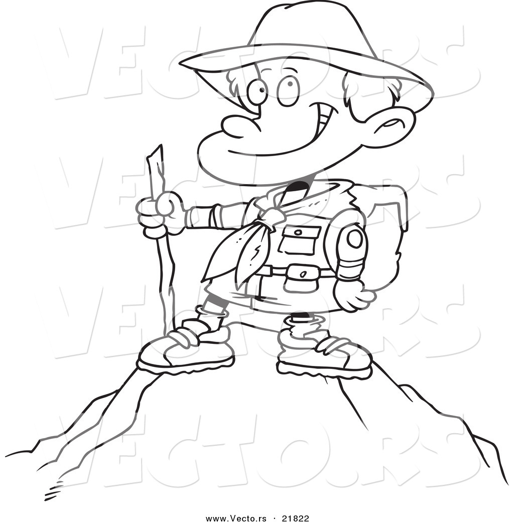 mountain climber coloring pages - photo#5