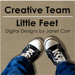 Little Feet Digital Designs by Janet Carr