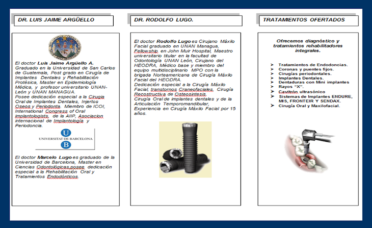 brochure clinica de implantes
