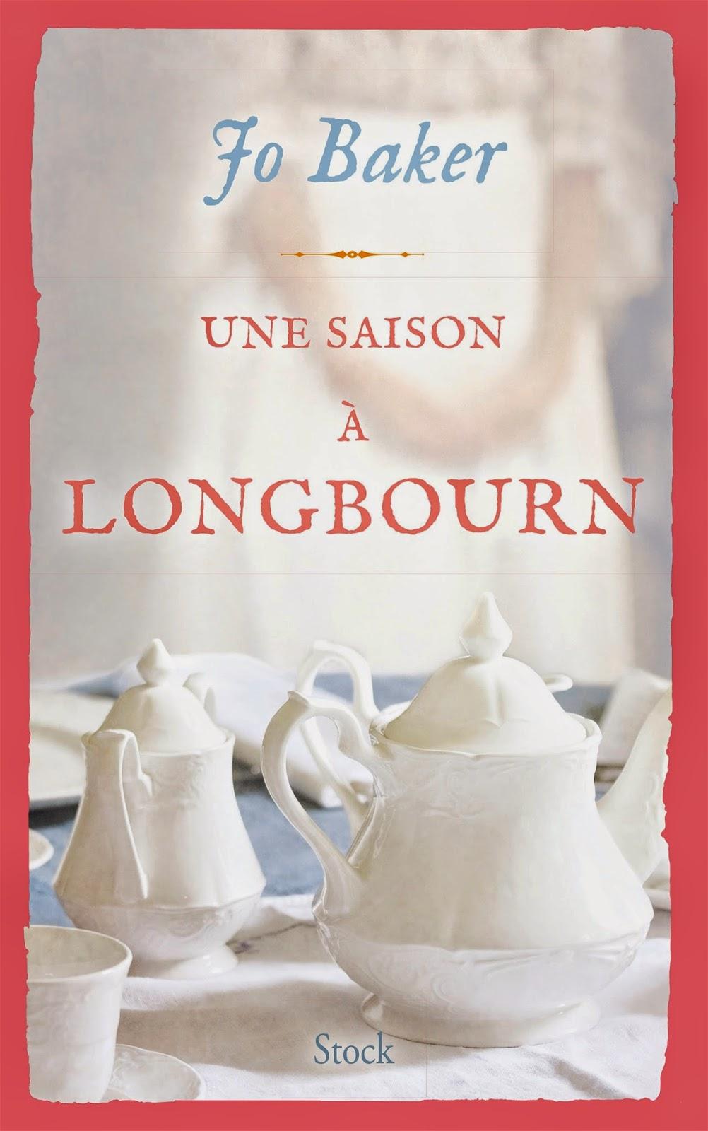 Dans la Bibliothèque /// Une saison à Longbourn - Jo BAKER